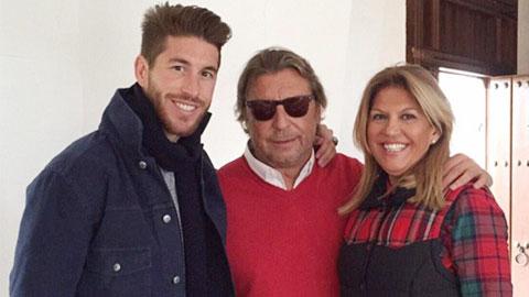 Ramos và gia đình đều quan tâm tới bóng đá Anh