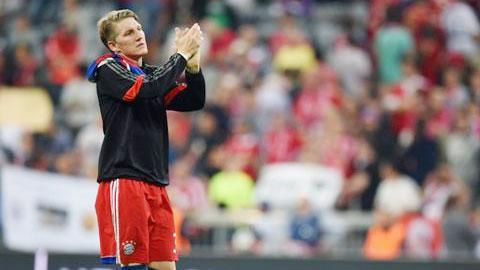 Từ chối cơ hội khoác áo M.U, Schweinsteiger ở lại Bayern