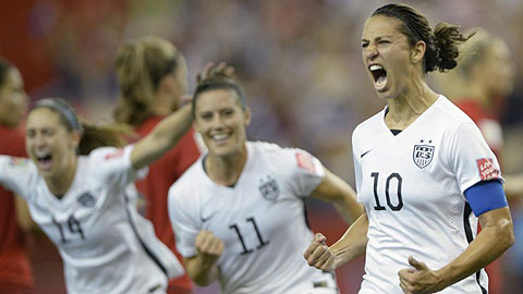 Bán kết World Cup nữ: Mỹ vào chung kết, Đức ra về tức tưởi