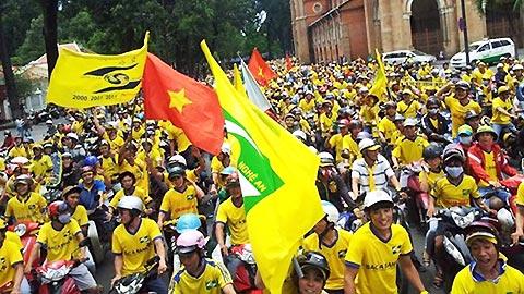 4000 CĐV SLNA sẽ diễu hành và 13.000 CĐV có mặt tại sân Bình Dương