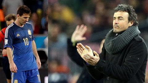 HLV Enrique hẳn đang mong ngày Messi chính thức chia tay ĐT Argentina