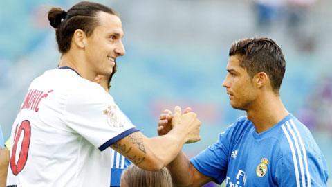 PSG sẽ đẩy Ibrahimovic đi để dọn đường đón Ronaldo