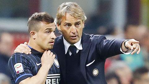 Inter mùa giải tới của HLV Mancini sẽ tấn công đầy tốc độ và luôn hướng về phía trước