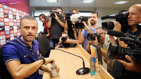 Enrique đặt mục tiêu Barca của ông sẽ vô địch tất cả các giải đấu ở mùa giải tới