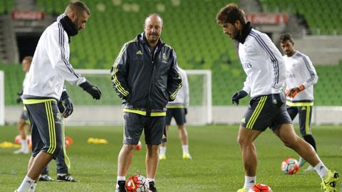 Chiều nay, hành trình phiêu lưu của HLV Benitez cùng Real Madrid sẽ chính thức bắt đầu