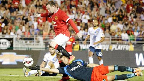 Rooney ghi tới 6 bàn thắng trong 4 cuộc đối đầu những đại diện của MLS