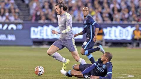 Bale đã cho thấy anh không thể đá hộ công