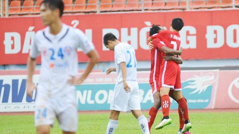 Hải Phòng 2-0 SHB Đà Nẵng: Trở lại với ngày vui