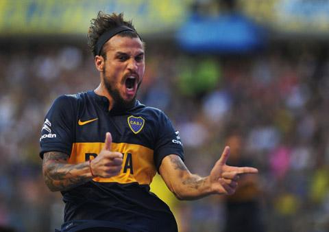 Osvaldo mới bị Southampton thanh lý hợp đồng sau nửa mùa cho Boca Juniors mượn
