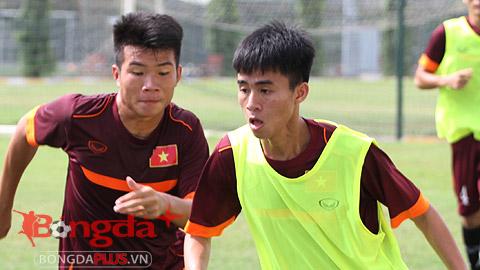 U19 Việt Nam: Chấn thương của Phan Thanh Hậu không quá nghiêm trọng