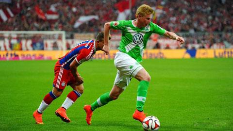 Kevin De Bruyne sẽ chuyển đến Bayern vào Hè 2016?