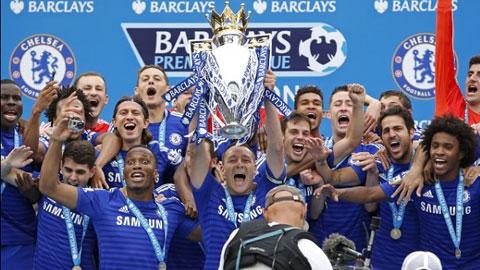 Chelsea vô địch Premier League 2014/15 một cách thuyết phục