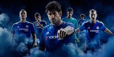 Mẫu áo đấu bắt mắt của Chelsea