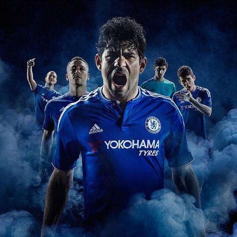 Tiền đạo Diego Costa dẫn đầu buổi ra mắt áo đấu của Chelsea