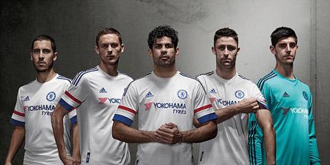 Mẫu áo đấu sân khách của Chelsea