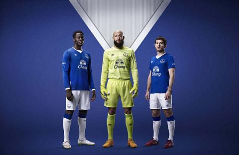Lukaku, Howard và Baines - những cầu thủ quan trọng của Everton