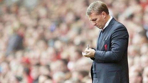 NHM kỳ vọng HLV Rodgers luôn biết cách cứu Liverpool như điều chỉnh của ông ở cuối trận thắng Stoke
