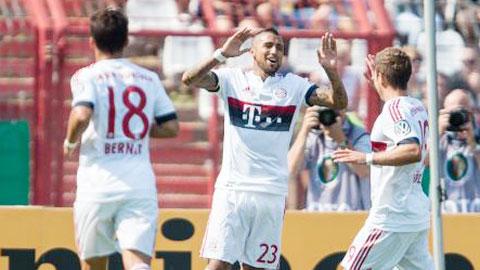 Nhiệm vụ đá phạt của Bayern: Vidal sẽ cạnh tranh với Mueller