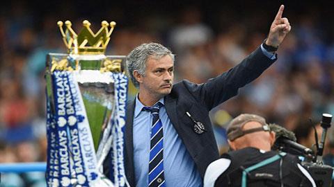 Mourinho đã 3 lần giúp Chelsea lên ngôi ở giải Ngoại hạng Anh