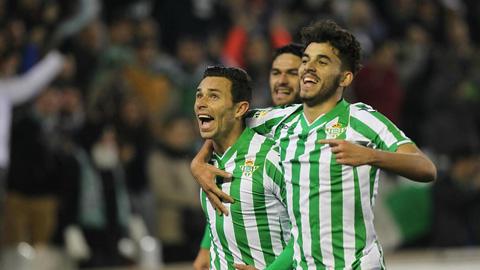 Real Betis hứa hẹn sẽ là chú ngựa ô của La Liga mùa 2015/16