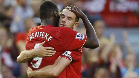 Benteke ghi bàn duy nhất giúp Liverpool giành chiến thắng
