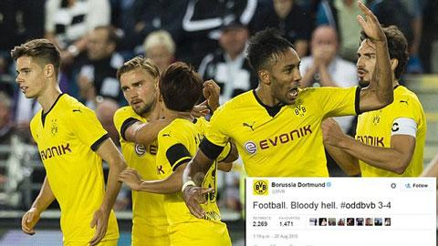 Dortmund có màn lội ngược dòng điên rồ tại Na Uy