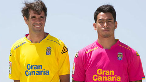 Las Palmas mới trở lại La Liga sau 13 năm vắng bóng