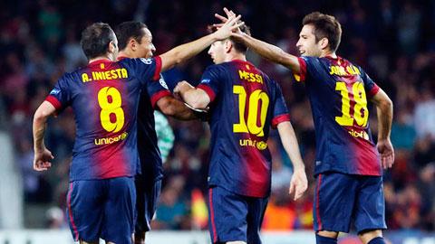 Những cầu thủ trưởng thành từ lò đào tạo La Masia ngày càng ít dần ở đội 1 Barca