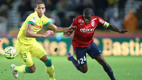 Không dễ để Lille (phải) giành chiến thắng tối nay dù có lợi thế sân nhà