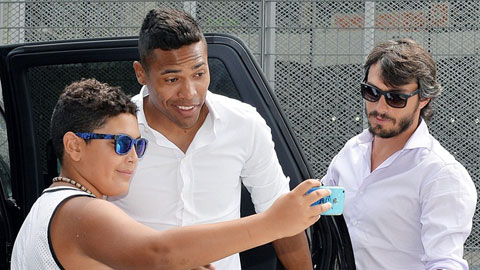 Có thêm Sandro (giữa), Juve càng tự tin trong cuộc đua vô địch