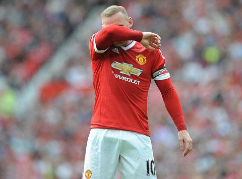 Ghi bàn trở thành công việc khó khăn với Rooney