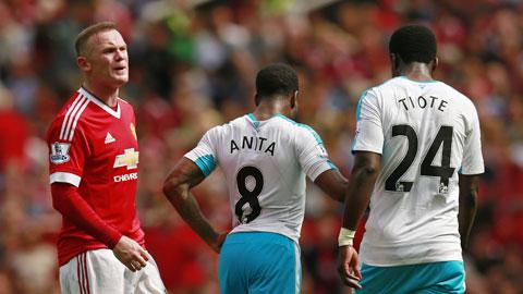 Thêm một trận đấu nữa Rooney chơi nhạt nhòa