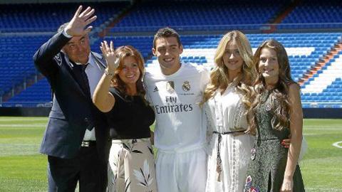 Tân binh Kovacic có trong danh sách thi đấu của Real