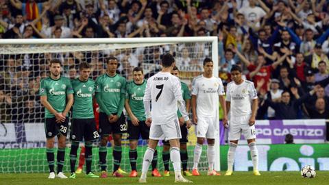 Ronaldo từng ghi khá nhiều bàn thắng từ những pha đá phạt