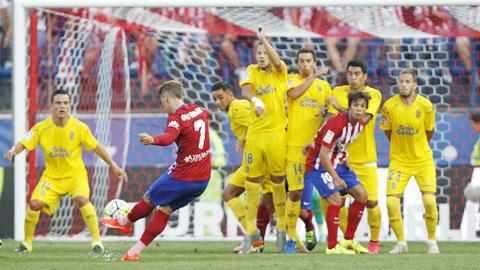 Pha ghi bàn hiếm hoi của Griezmann ở lượt trận đầu tiên của La Liga mùa này
