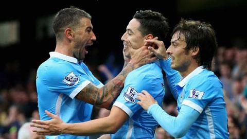 Man City vẫn chưa để mất điểm nào ở giải Ngoại hạng Anh mùa này