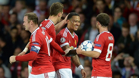 Người hâm mộ có thể xem M.U thi đấu ở Champions League qua truyền hình