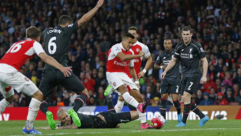 Arsenal chưa thắng trên sân nhà mùa này
