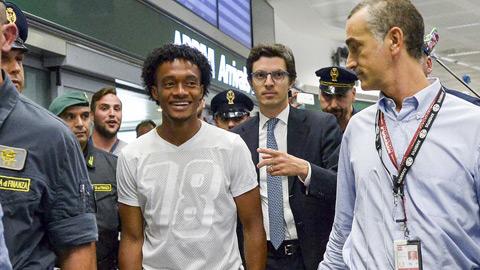 Cuadrado sắp tái xuất tại Serie A theo hợp đồng cho mượn