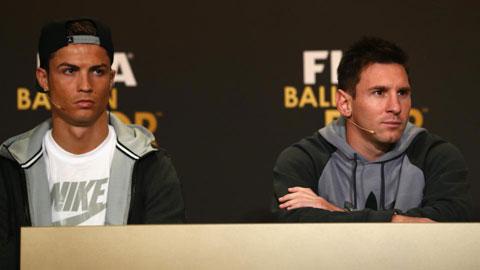 Ronaldo và Messi đều có 5 lần đá hỏng phạt đền ở La Liga