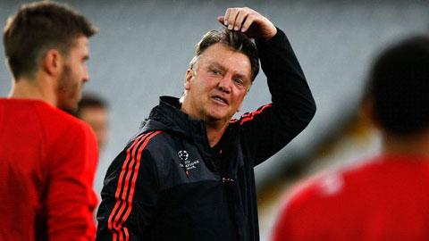 Van Gaal đề cao hàng thủ M.U