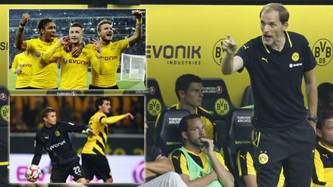 Với sự vững chắc của hàng thủ, sự thăng hoa và hồi sinh của các trụ cột, tài năng của HLV Tuchel… Dortmund rất tự tin trong cuộc đua vô địch