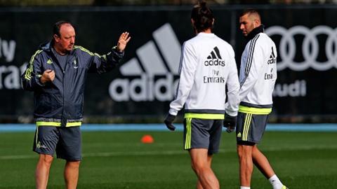 Benitez cần phải điều chỉnh hệ thống tấn công của Real
