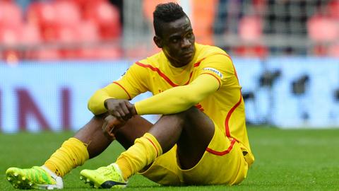 Balotelli gây thất vọng sau 1 năm khoác áo Liverpool với chỉ 1 bàn thắng tại Premier League