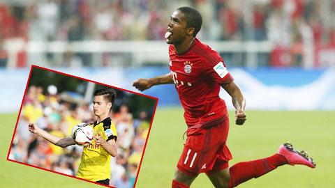 """Costa và những """"sao mai"""" tỏa sáng tại Bundesliga"""