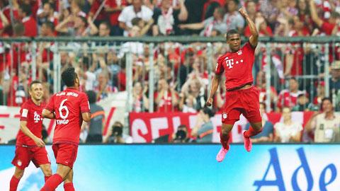 Costa chơi như lên đồng trong màu áo Bayern