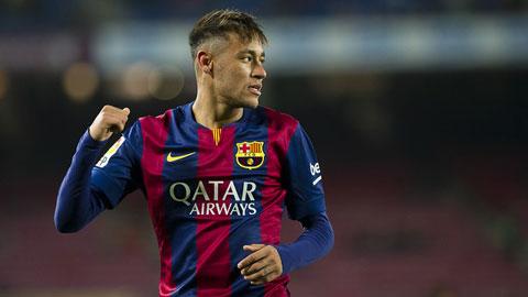 Neymar đã ghi 39 bàn cho Barca ở mùa giải trước