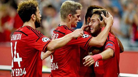 Màn vùi dập Lazio chứng tỏ Leverkusen vẫn là một đội bóng bản lĩnh