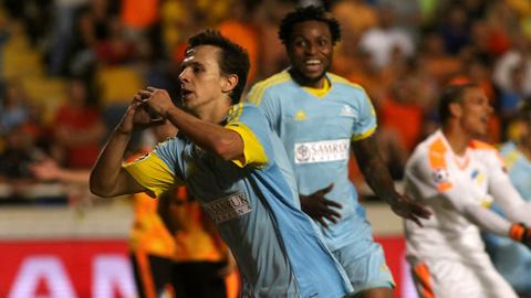 Astana FC trở thành đội bóng Kazakhstan đầu tiên có mặt tại vòng bảng Champions League