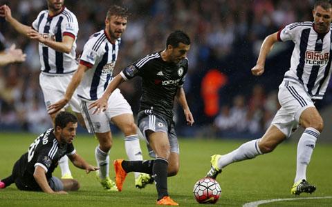 Pedro đã chơi rất hay ở trận ra mắt Chelsea